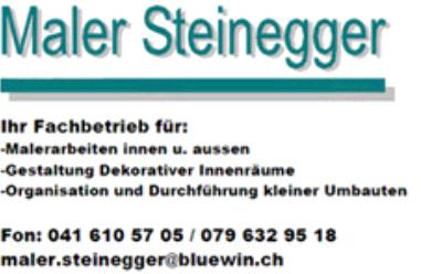 Maler Steinegger
